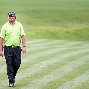 Steven Bowditch during the second round of the 2014 Valero Texas Open in San Antonio.