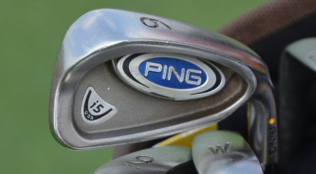 D.A. Points brought his trusty, five-year-old Ping i5 irons to the 2014 Shell Houston Open.