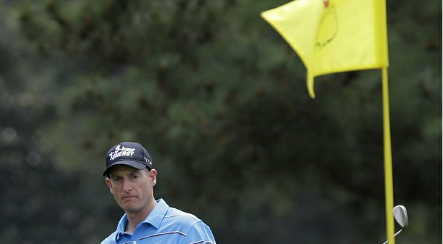 """Jim Furyk says he will rely on """"confidence"""" rather than recent statistics going into the 2014 Masters at Augusta National (shown here last year)."""