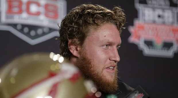 Jack Nicklaus' grandson Nick O'Leary, an FSU football player, reportedly has been injured in his second motorcycle crash in less than a year.