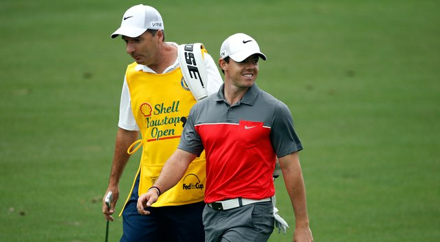 Rory McIlroy during the first round of the Shell Houston Open.