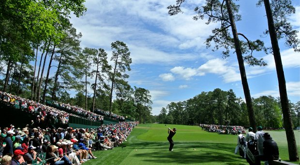 Augusta National's 14th hole