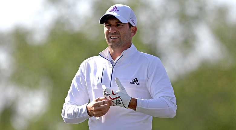 Sergio Garcia leads after two rounds of the Shell Houston Open.
