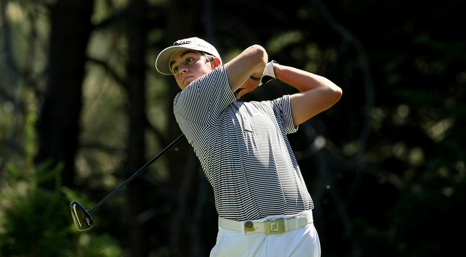 Davis Riley won the Terra Cotta Invitational in Naples, Fla., despite a late charge from Haden Wood and Brad Dalke.