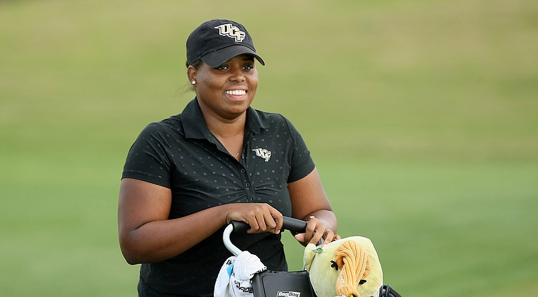 Monifa Sealy and the UCF Knights head into the Web.com Intercollegiate as the top-ranked team in the field.