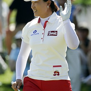 Se Ri Pak during the final round of the LPGA's first major of 2014, the Kraft Nabisco Championship.