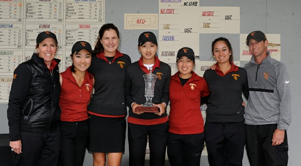 USC won the Liz Murphey Collegiate on April 6, defeating Arkansas in the match-play final.