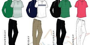 Senden's scripted apparel for 2014 Masters