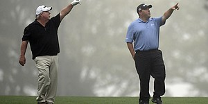 PHOTOS: Craig and Kevin Stadler at 2014 Masters