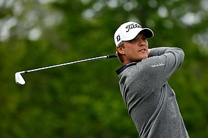 Matt Jones during the third round of the 2014 Shell Houston Open at the Golf Club of Houston.