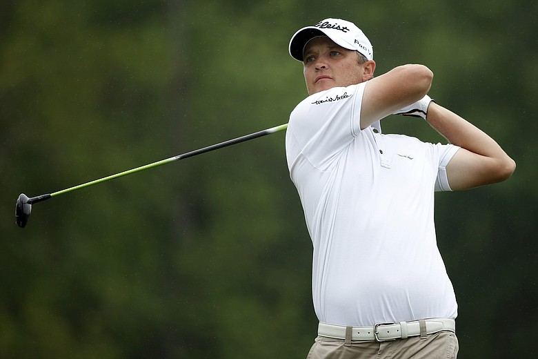 Matt Jones during the first round at the Shell Houston Open.