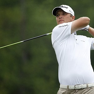 Matt Jones during the first round of the 2014 Shell Houston Open at the Golf Club of Houston.
