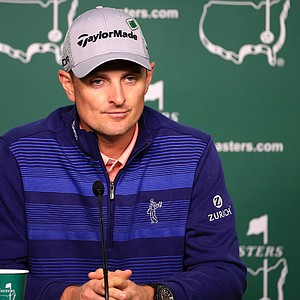 Justin Rose has held the first-round lead at the Masters three times.