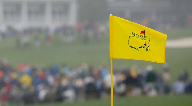 The wind and fog greeted players on Monday morning, but it looks as though they'll have blue skies on Tuesday.