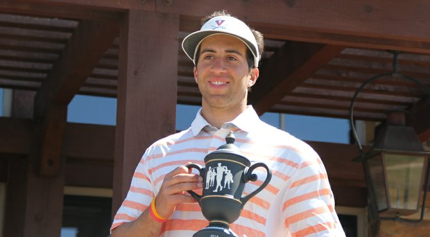 Virginia's David Pastore won the Jim West Intercollegiate on April 8 in a playoff.