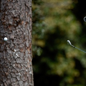 Ian Poulter during Tuesday's practice round at the 2014 Masters.
