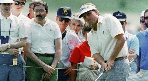 Mark Calcavecchia at the 1988 Masters.