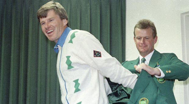 Nick Faldo won the 1989 Masters in a playoff over Scott Hoch.