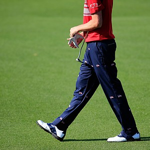 Webb Simpson's Izod pants