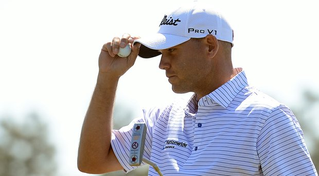Bill Haas during Thursday's first-round 68 that took the early lead at the 2014 Masters at Augusta National.