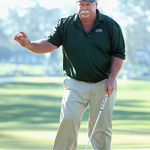 Craig Stadler during Thursday's first round of the 2014 Masters at Augusta National.