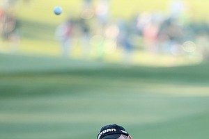 Ian Woosnam during Thursday's first round of the 2014 Masters at Augusta National.