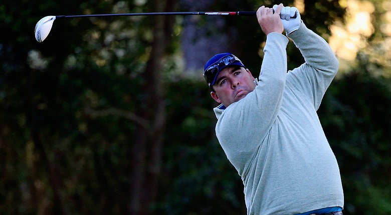 Kevin Stadler emerged from the shadow of his father, Craig, the 1982 Masters champion, with a 2-under 70 in the first round of the 2014 Masters at Augusta National.