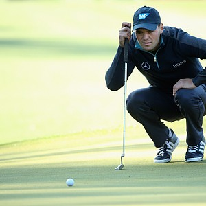 Martin Kaymer during Thursday's first round of the 2014 Masters at Augusta National.