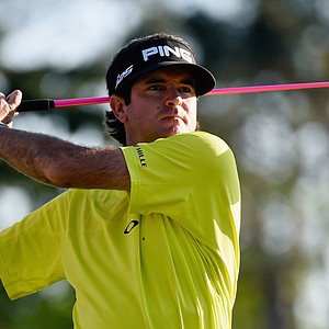 Bubba Watson during the 2014 Masters at Augusta National.