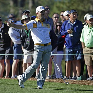 Matt Every during Thursday's first round of the 2014 Masters at Augusta National.