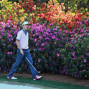 Russell Henley during Thursday's first round of the 2014 Masters at Augusta National.