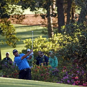 Steven Bowditch during Thursday's first round of the 2014 Masters at Augusta National.