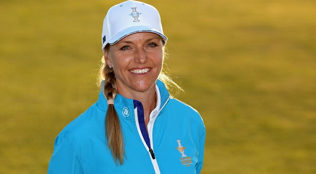 Carin Koch was named captain of Europe's Solheim Cup team on Friday.