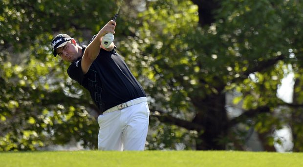 Marc Leishman got off to a hot start on Friday, including an impressive birdie on the opening hole.
