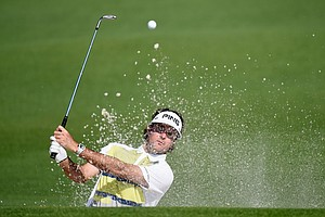 Bubba Watson during Friday's second round of the 2014 Masters at Augusta National.