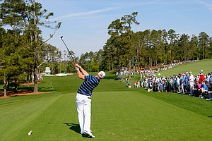 Hunter Mahan in Under Armour