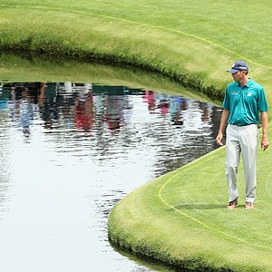 Matt Kuchar during Friday's second round of the 2014 Masters at Augusta National.