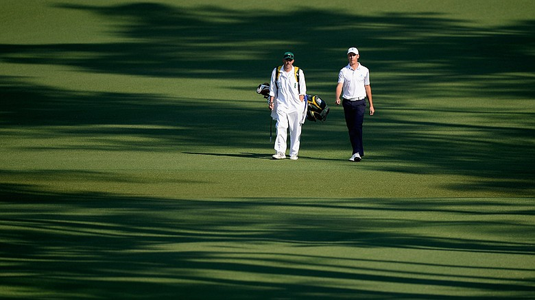 Oliver Goss shot a 1-under 71 in the second round of the 2014 Masters and will most likely be the only amateur to make the cut.