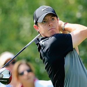 Rory McIlroy during Friday's second round of the 2014 Masters at Augusta National.