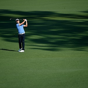 Sang-Moon Bae during Friday's second round of the 2014 Masters at Augusta National.