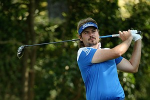 Victor Dubuisson in J. Lindeberg