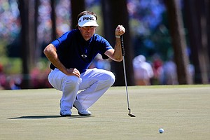 Bubba Watson during Saturday's third round of the 2014 Masters at Augusta National.
