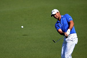 Jason Day during Saturday's third round of the 2014 Masters at Augusta National.