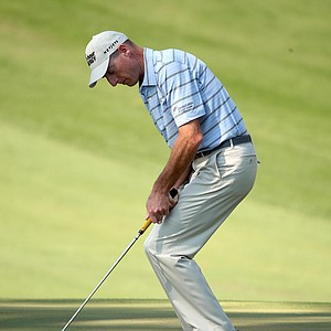 Jim Furyk during Saturday's third round of the 2014 Masters at Augusta National.