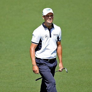 Martin Kaymer during Saturday's third round of the 2014 Masters at Augusta National.