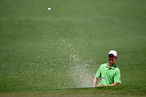 Mike Weir during Saturday's third round of the 2014 Masters at Augusta National.