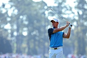 Rory McIlroy during Saturday's third round of the 2014 Masters at Augusta National.