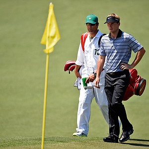 Russell Henley during Saturday's third round of the 2014 Masters at Augusta National.