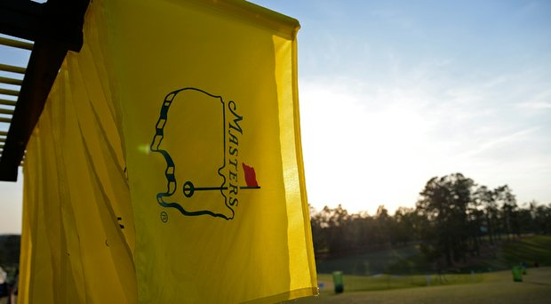 The final round at the Masters starts at 10:10 a.m., with its final tee time scheduled for 2:40 p.m.
