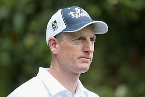 Jim Furyk during Sunday's final round of the 2014 Masters at Augusta National.